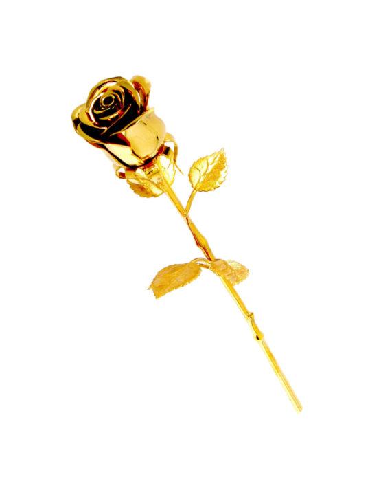 """Эксклюзивные цветы """"Розы золотые"""" в подарок женщине"""