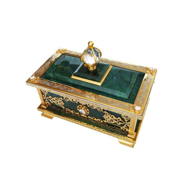 Ларец из нефрита эксклюзивный подарок женщине
