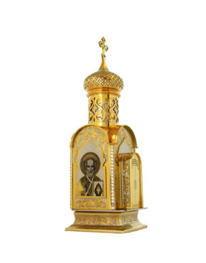 """Настольный православный сувенир """"Часовня"""" в Москве"""