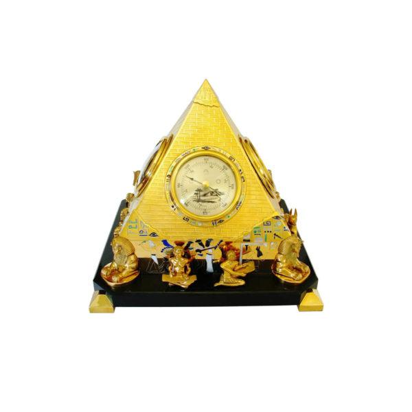 Настольная метеостанция пирамида