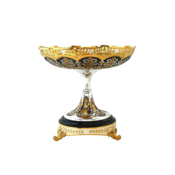 Самый дорогой подарок женщине ваза серебряная
