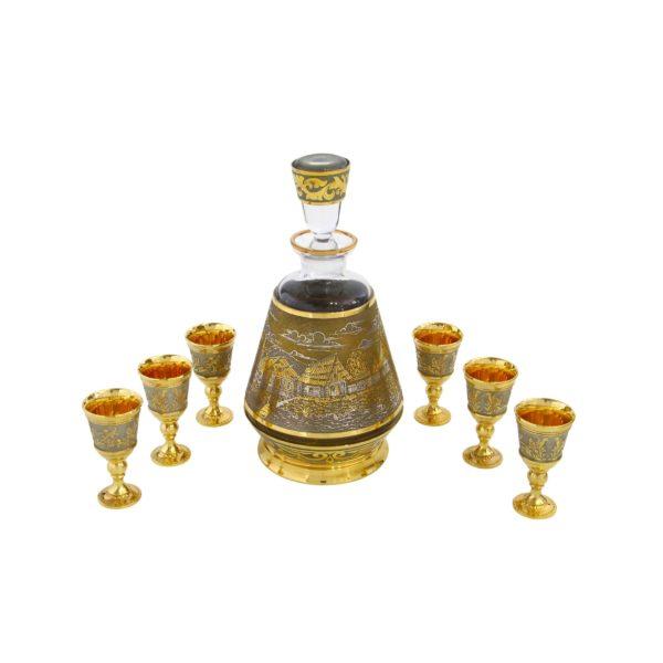 Водочный сервиз, коньячный сервиз, набор для виски в подарок директору