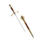 Подарок мужчине на юбилей сувенирное клинковое оружие