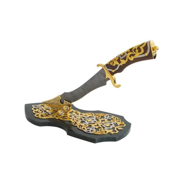 """Кованный нож из дамасской стали """"Визирь"""""""