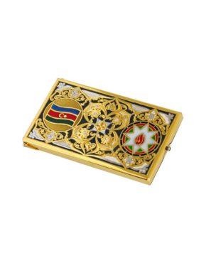 "Визитница для визиток с логотипом ""Азербайджан"""