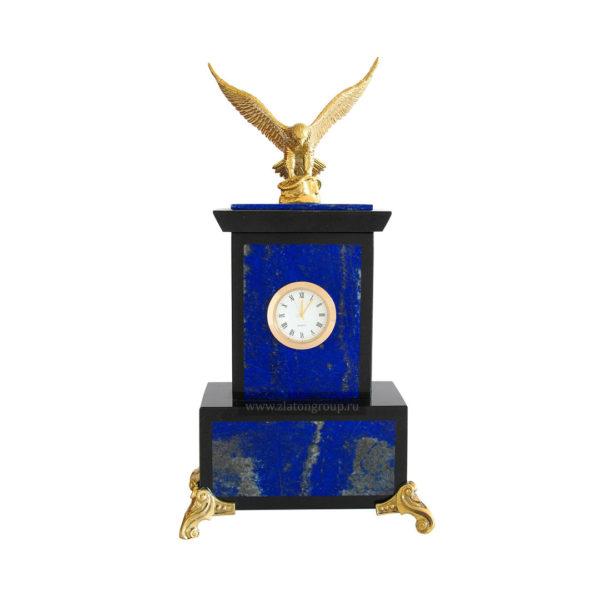 Купить часы настольные из лазурита