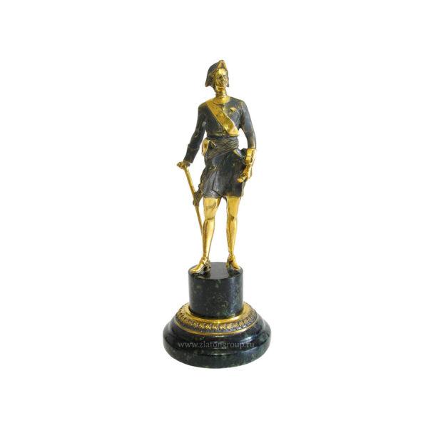 Купить статуэтку Пётр 1 из бронзы