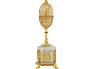 Яйцо сувенирное пасхальное с иконой