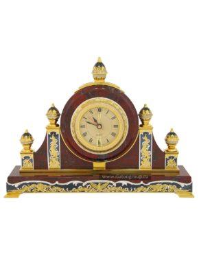 Каминные часы из яшмы