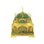 Шкатулка из нефрита Мечеть