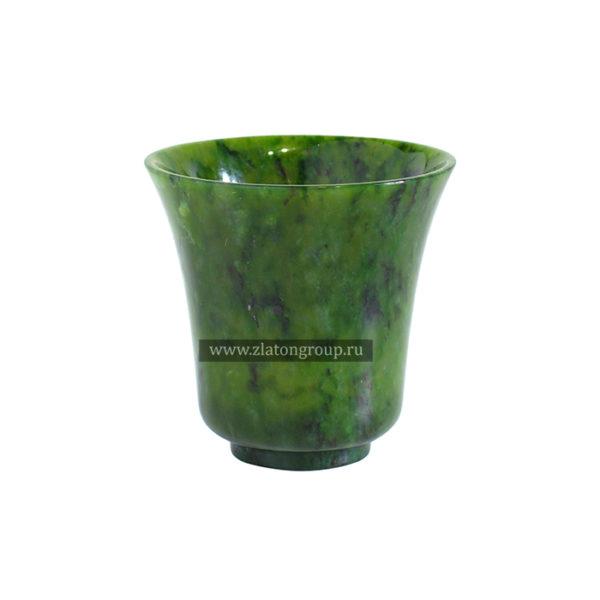 Чашка кофейная из нефрита