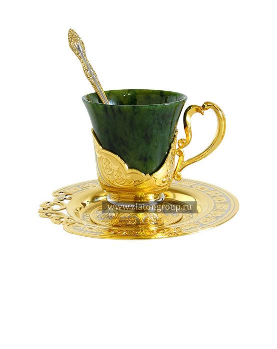 Купить кофейную чашку из нефрита
