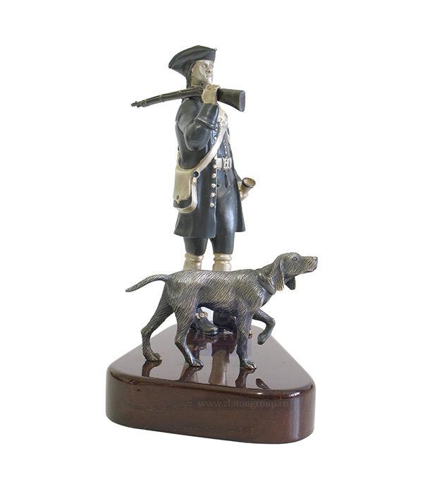 Подарок папе охотнику с собакой