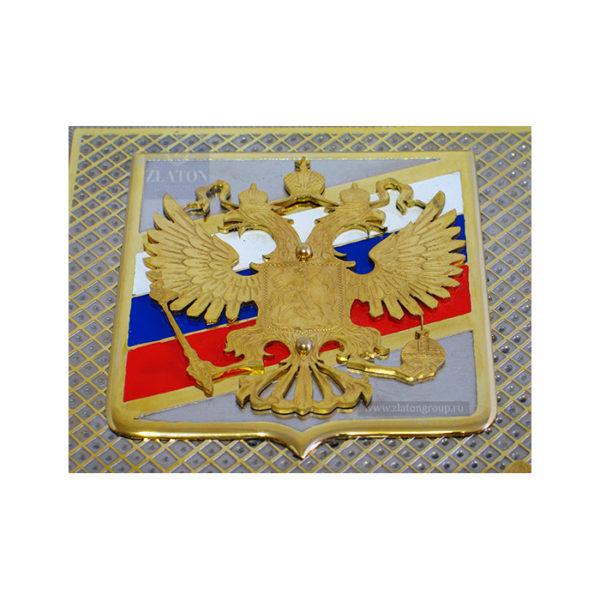 Герб России металл