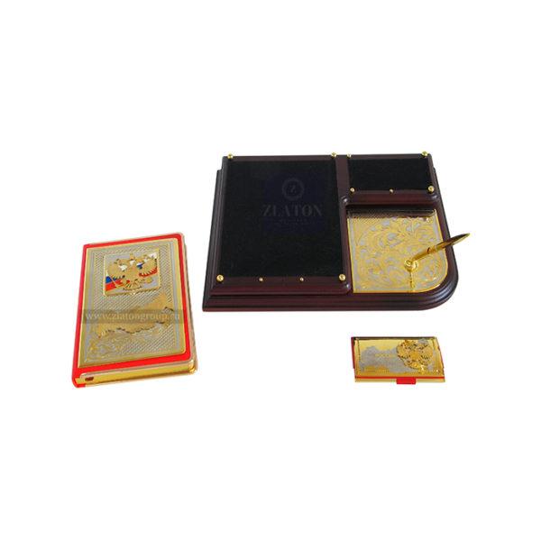 Письменный прибор из дерева