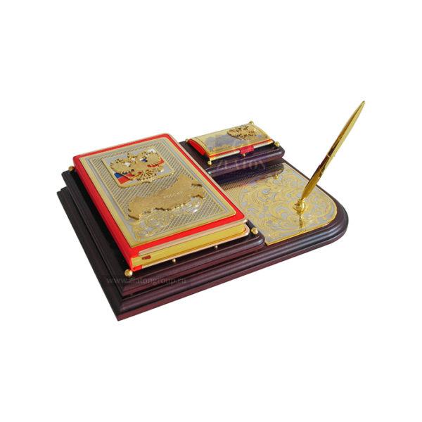Купить письменный прибор с ежедневником