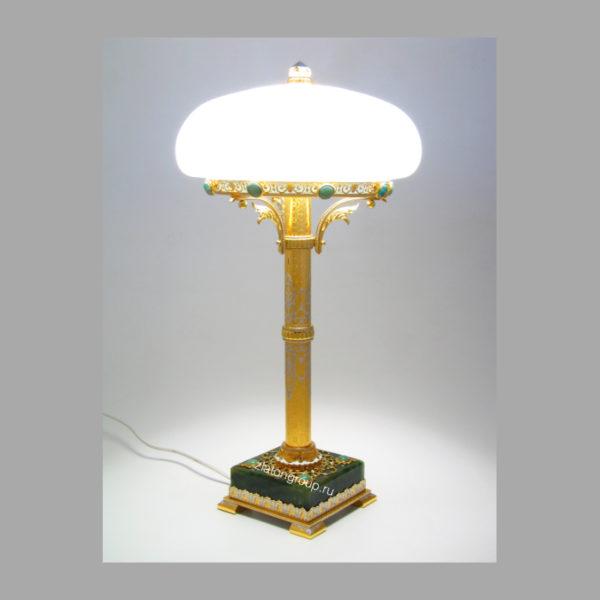 Нефритовая лампа